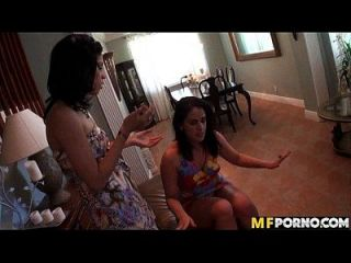 Pretty Latinas Fuck A Dick Together 1