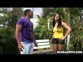 Amazing Poolside Doggystyle With Hot Latina Babe 01