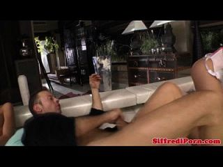 Bigdick Euro Stud Fucks Ass During Ffm