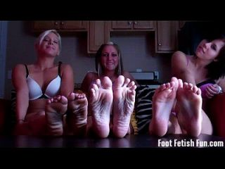You Love Jerking Off To Our Pretty Feet