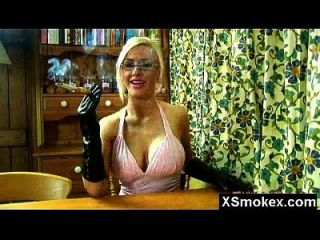Wild Breasts Smoking Milf Secretly Screwed