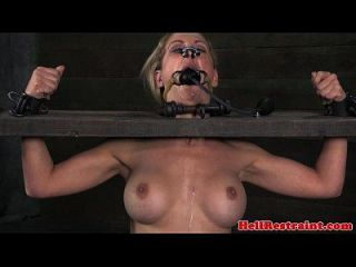Blonde Maledom Sub Kinky Bondage Play