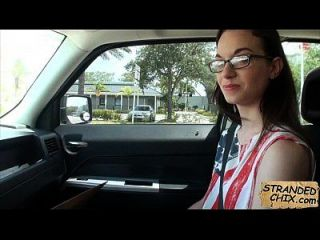 Teen Stranded Sucks Dick For A Ride Home Tali Dava.1.2