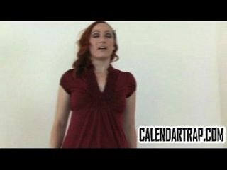 Small Tit Amateur Redhead Does A Striptease