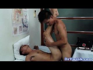 Asian Twinks Barebacking Fun With Doctor
