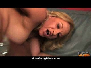 Monster Black Cock Bangs My Moms White Pussy 11