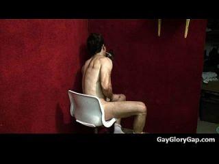 Gay Gloryholes And Gay Handjobs - Nasty Wet Gay Hardcore Sex 23