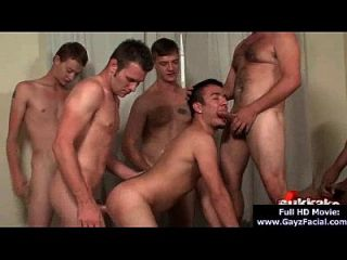 Bukkake Boys - Gay Guys Get Covered In Loads Of Hot Semen 16