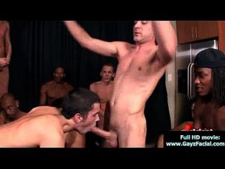 Bukkake Boys - Gay Guys Get Covered In Loads Of Hot Cum 04