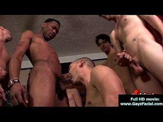Bukkake Boys - Gay Guys Get Covered In Loads Of Hot Cum 17