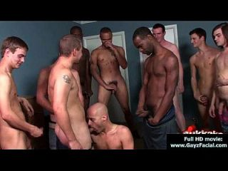 Young Guys Get Covered In Loads Of Hot Cum - Bukkake Boys 21