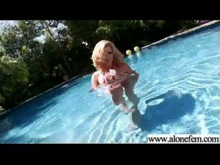 Solo Horny Amateur Girl Get Dildo Toys In Holes Video-04