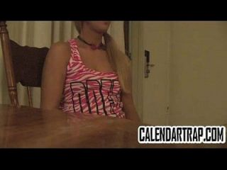 Skinny Blonde Teen In Amateur Foreplay