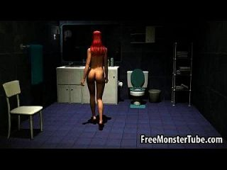Foxy 3d Cartoon Redhead Babe Gets Licked And Fucekdomfantasies-high 1