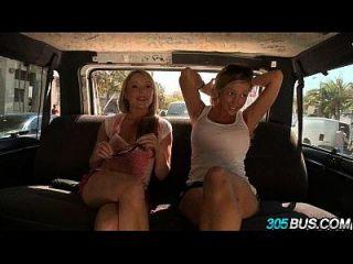 Hot Girls Aria Aspen, Trisha Uptown & Samantha Sainton Spring Break1