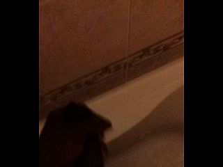 Jerkoff In The Shower