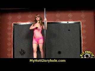 Interracial - White Lady Confesses Her Sins At Gloryhole 30