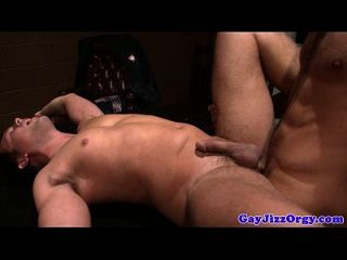 Cum Loving Bobby Clark Has A Big Orgy
