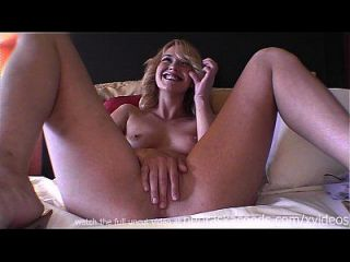 Hot Blonde With Braces And Puffy Nipples Being Naked On Camera