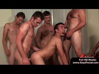Bukkake Boys - Gay Guys Get Covered In Loads Of Hot Semen 15