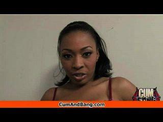 Ebony Girl Gets Slammed By Some White Dudes 24