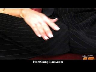 Huge Black Meat Going Into Horny Mom 13