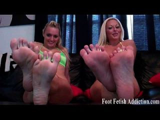 Worship Our Tiny Toes Like A Good Boy