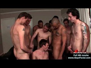 Young Guys Get Covered In Loads Of Hot Cum - Bukkake Boys 05