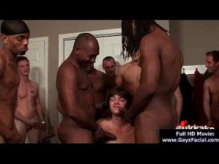 Bukkake Boys - Gay Guys Get Covered In Loads Of Hot Semen 02