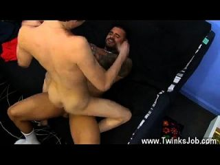 Gay Sex After Having The Cum Porked Out Of Him, He Earns A Red-hot