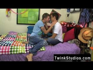 Hot Twink Brice Carson Is Bragging To His Pal Keith Conner About His