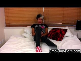 Hot Gay His Look Is Enough To Get Many Emo Devotees Rock-hard And