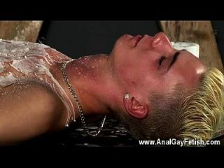 Hot Gay Scene Splashed With Wax And