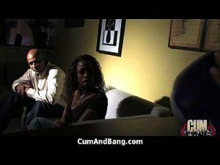 Ebony Girl Gets Slammed By Some White Dudes 17