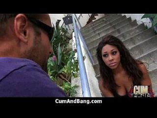 Ebony Slut In An Amazing Gangbang 2