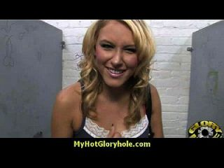 Interracial - White Lady Confesses Her Sins At Gloryhole 6