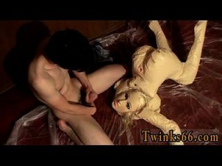 Amazing Gay Scene The Fellow Loves To Make A Mess With His Wee,