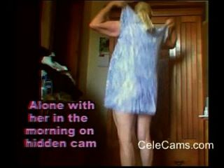Spend The Morning With Her On Hidden Cam