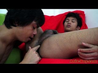 Asian Twink Fingers And Fucks Pals Ass