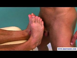 Straight Pornstars Gay Massage Scene
