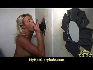 Interracial - White Lady Confesses Her Sins At Gloryhole 9