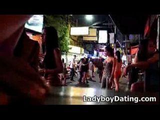 Ladyboy Walking Street Pattaya