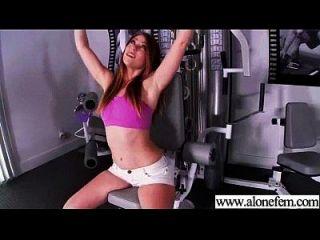 Sexy Hot Girl Filmed Using Toys To Masturbate Movie-27