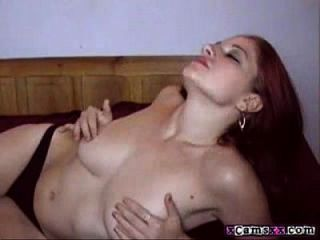 Busty Teen Babe Fingers Ass And Dildos Pussy