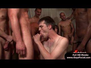 Bukkake Boys - Gay Guys Get Covered In Loads Of Hot Semen 05