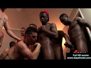 Bukkake Boys - Gay Guys Get Covered In Loads Of Hot Cum 09