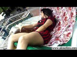 Alone Sexy Horny Girl Masturbating Tender Vid-18