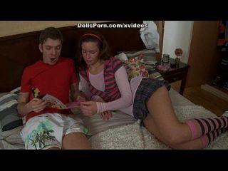 Deepthroat Amateur Chick Porn Scene 1