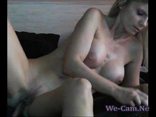 Horny Slutwife Masturbates With Sextoys Webcam Chat