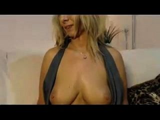 Hot Blonde With Perfect Tits Fucks Her Pussy With A Dildo!